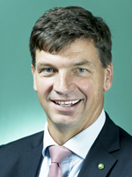 Official portrait of Angus Taylor